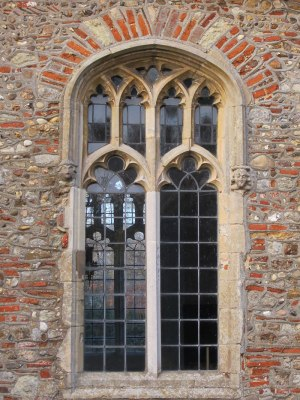 Arched window at St. Peter's