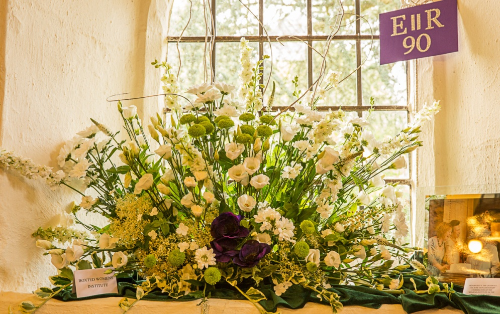 22 - Patron of the Women's Institute - Boxted WI