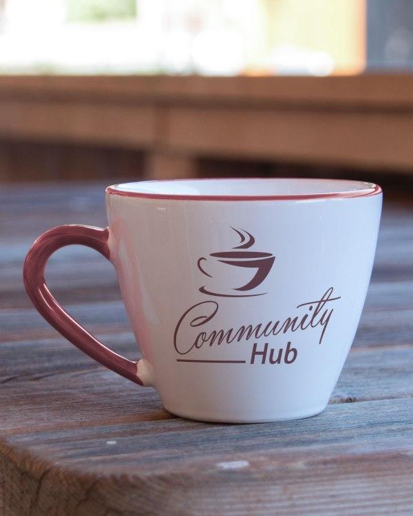 community hub flyer