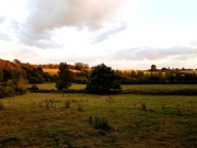 Part of Boxted lies within an AONB