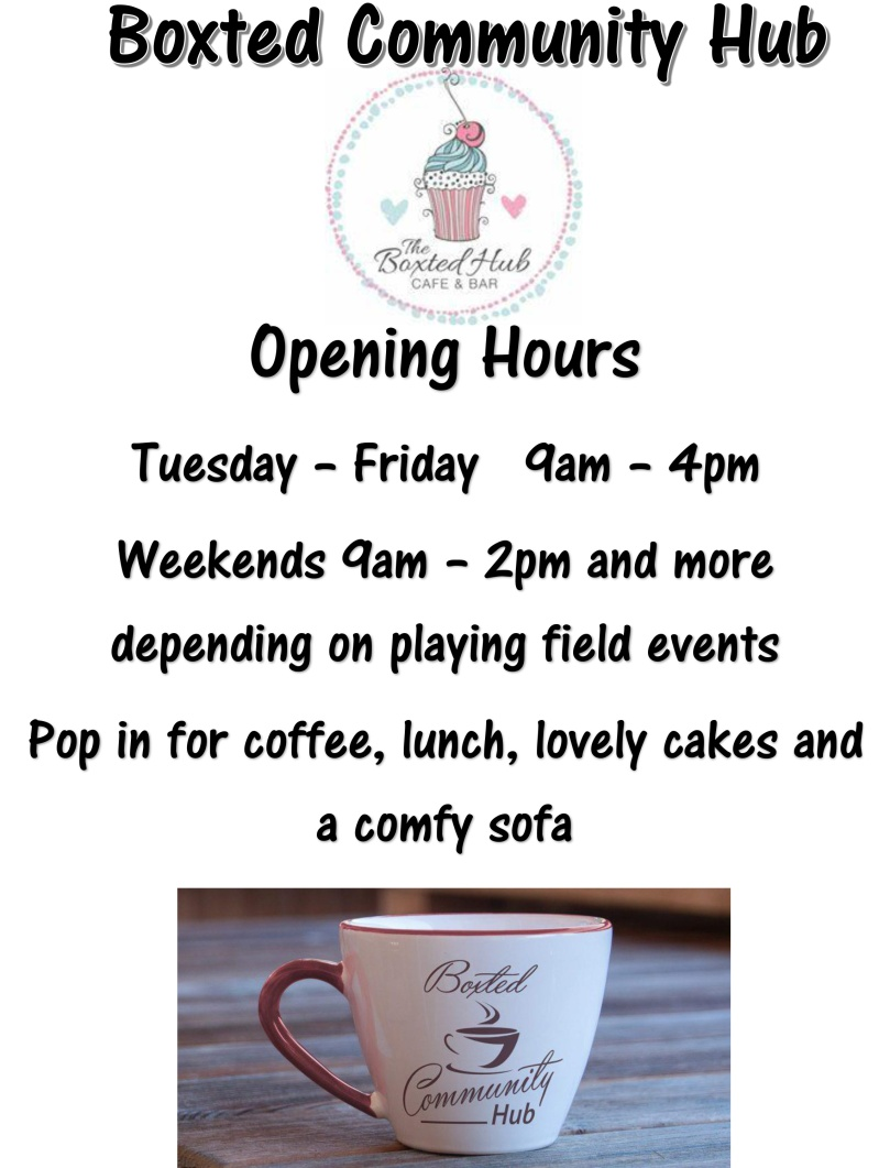 Hub-opening-hours